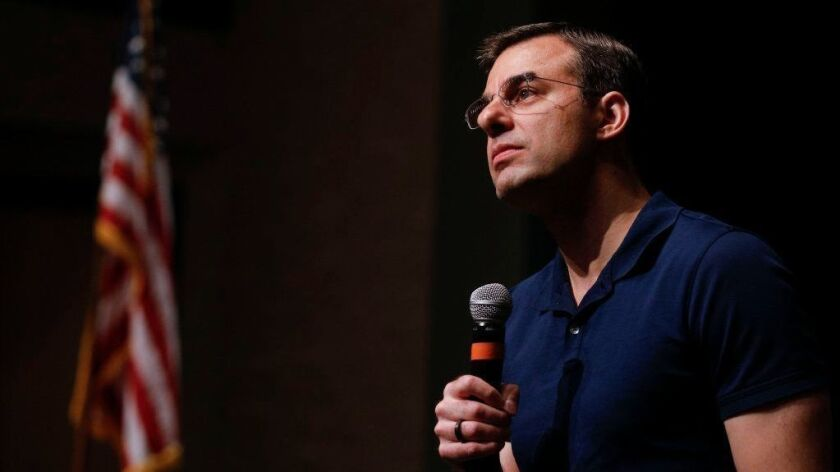 U.S. Rep. Justin Amash (R-MI) Holds Town Hall In Grand Rapids, Michigan