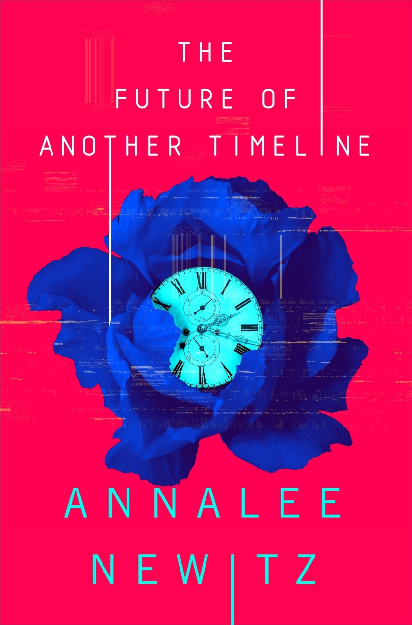 "Annalee Newitz's ""The Future of Another Timeline"" is her second novel."