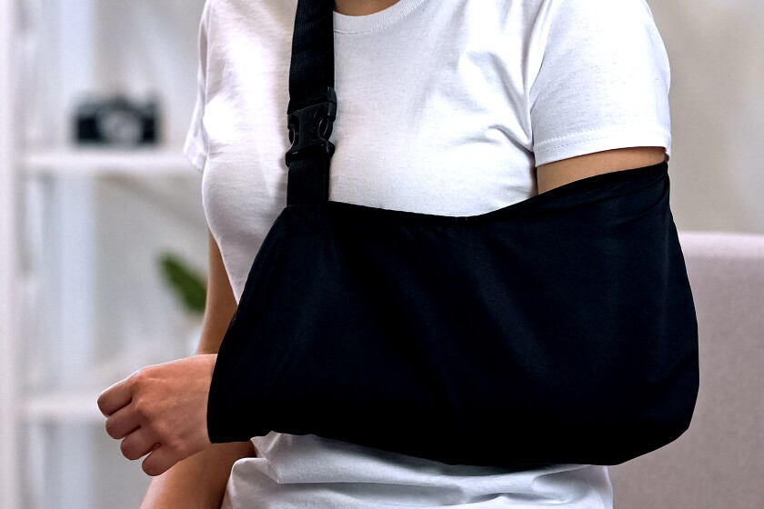 She was billed $200 for a shoulder sling. It's available online for less than $20