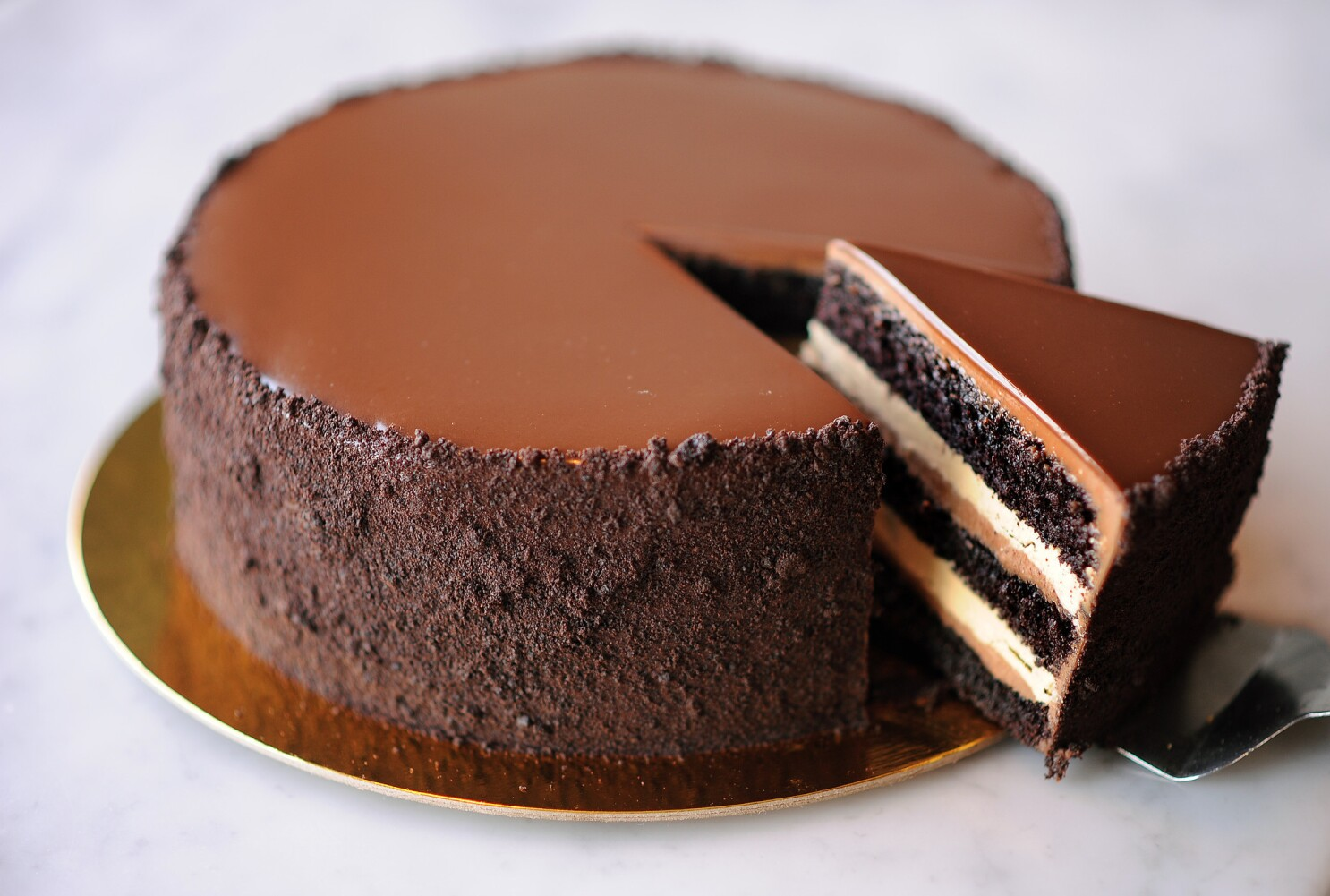 Proof Bakery's chocolate espresso layer cake Recipe - Los Angeles Times