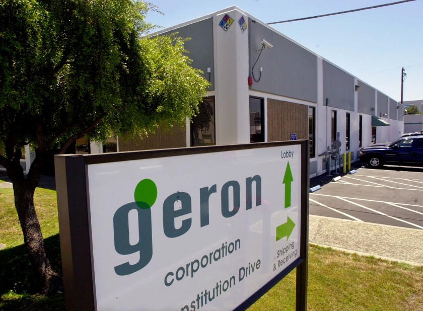 "Menlo Park, Calif.-based Geron Corp. shocked the stem cell community in 2011 when it canceled trials of a potentially ""landmark"" therapy. But did the blow make news coverage of the field any less hype-ridden?"