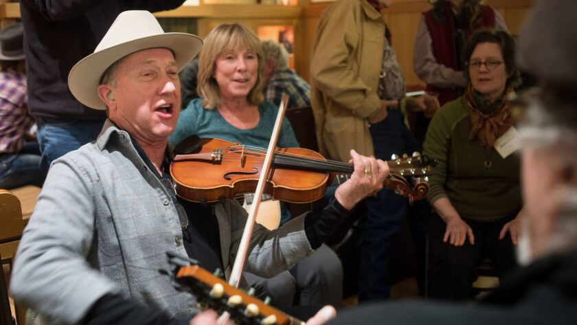 Poetry, music and Basque food will be featured at the 34th National Cowboy Poetry Gathering in Elko, Nev.
