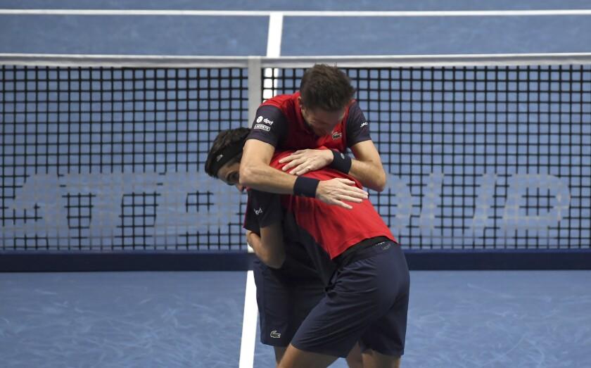 Britain Tennis ATP Finals