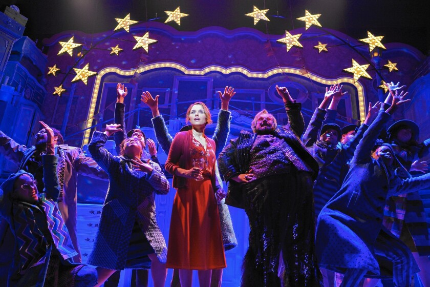 Samantha Barks stars in the 'Amélie' musical at Berkeley Repertory Theater