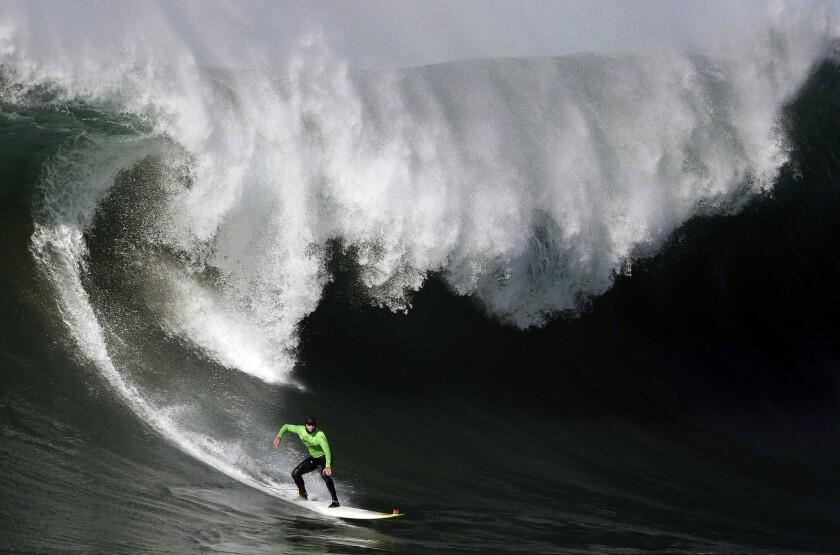 Surfer injured