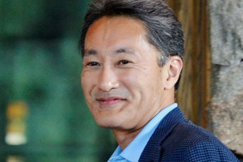 Kazuo Hirai, president and CEO of Sony Corp., in Sun Valley, Idaho, last month.