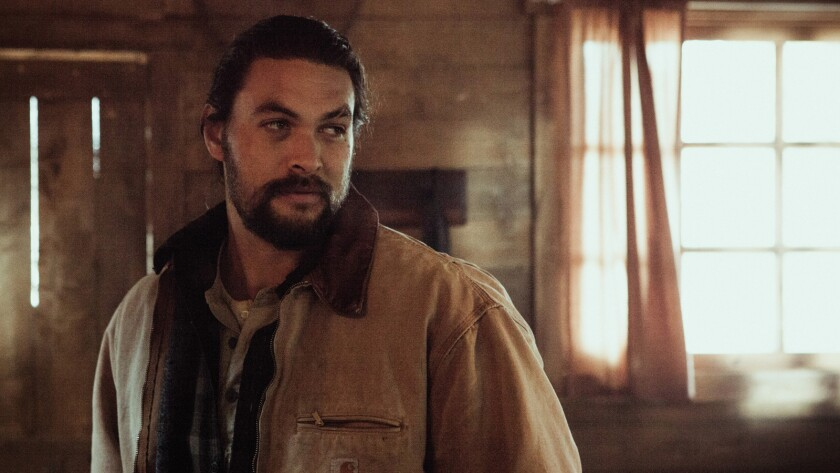 "Jason Momoa (Joe) in a scene from the movie ""Braven."" Credit: Duncan DeYoung / Saban Films"