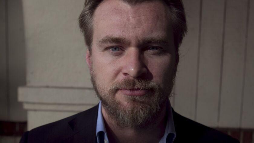 Film director Christopher Nolan.