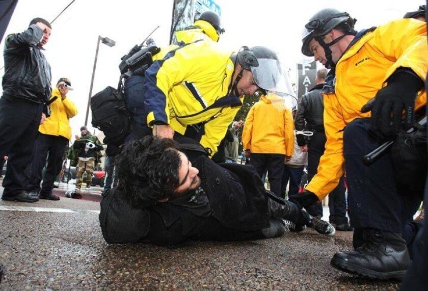 Occupy SD Port Shutdown