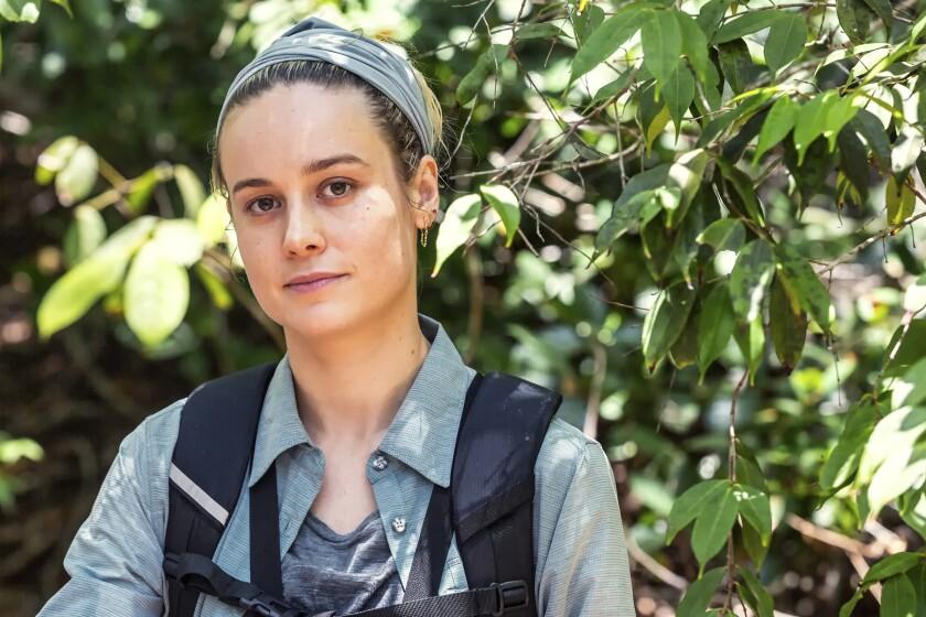 "Brie Larson in ""Running Wild With Bear Grylls"""