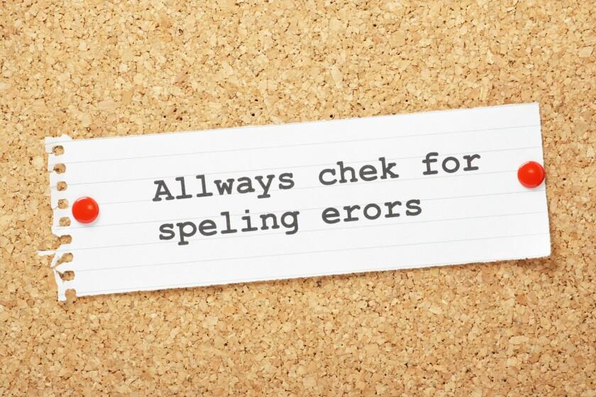 spelling errors clip art