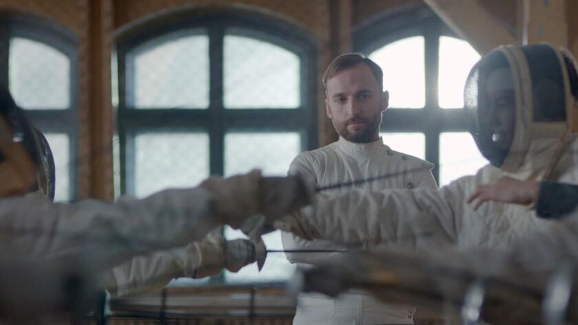 "Märt Avandi in the film ""The Fencer."""