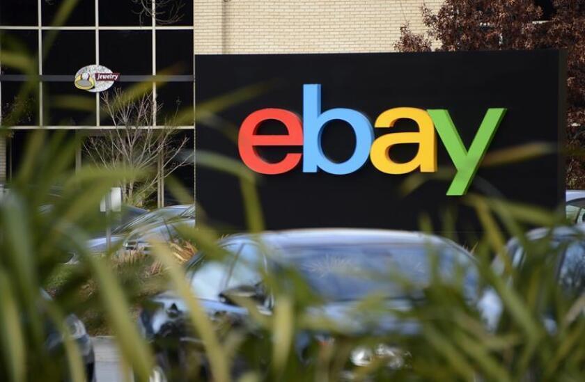 Vista del exterior de la sede de la compañía californiana de internet eBay en San José, Estados Unidos. EFE/Archivo