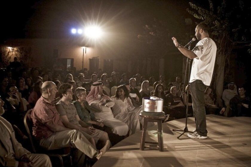 The documentary feature by Egyptian-American comedian Ahmed Ahmed is his directorial debut.