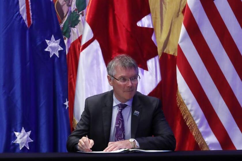 El ministro de Comercio de Nueva Zelanda, David Parker. EFE/Archivo