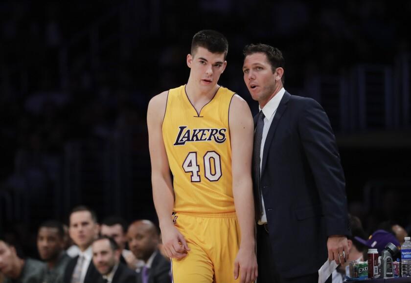 El entrenador de los Lakers, Luke Walton, tiene en claro el camino que quiere como entrenador.