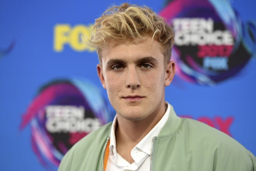 Jake Paul in 2017.