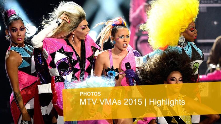 MTV VMAs 2015 show