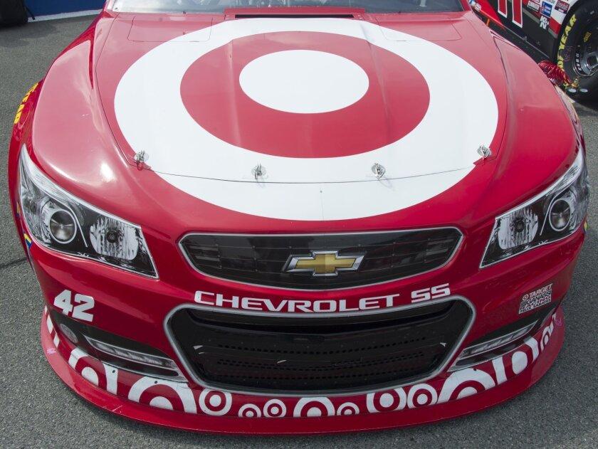 Kyle Larson's Sprint Cup stock car #42