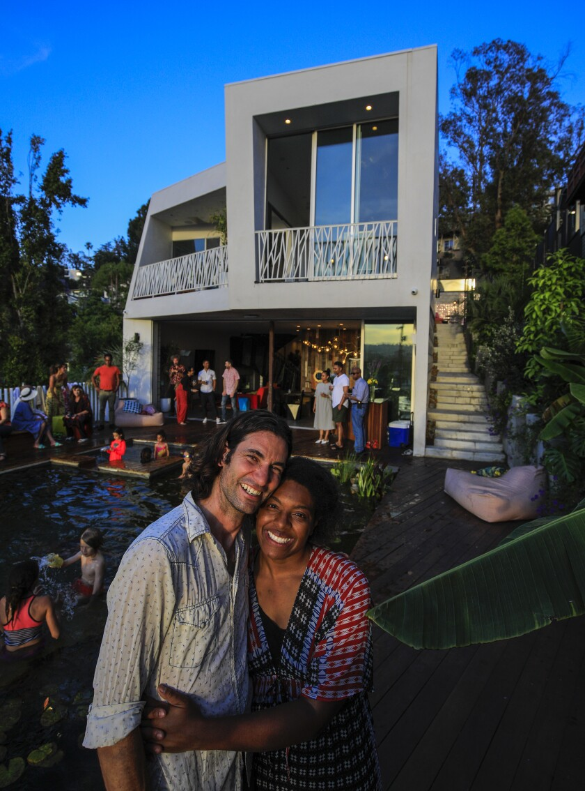 At this weekly Sunday dinner party in Silver Lake, all are welcome — even the Uber driver