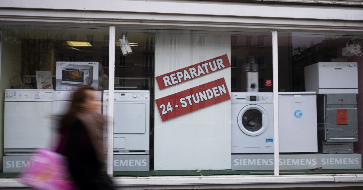 Europe's 'right to repair' for some appliances comes into force to curb electronic waste
