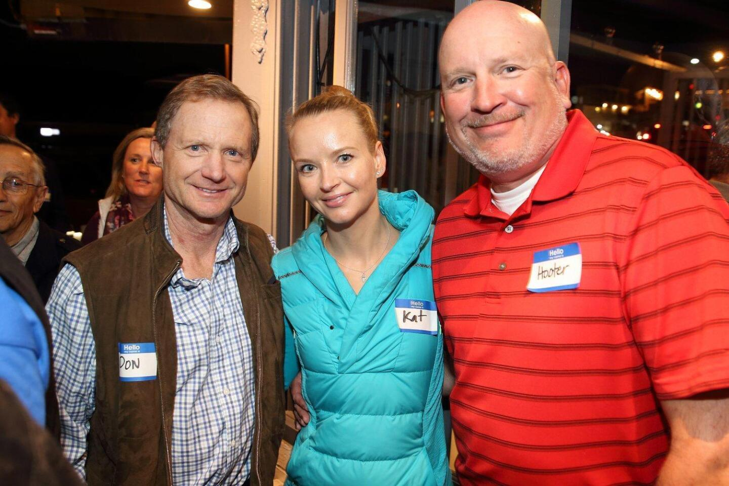 Don Ankeny, Kat Henning, Hooter Houts