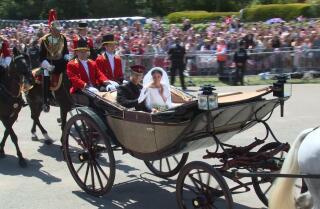 The royal wedding: Prince Harry and Meghan Markle