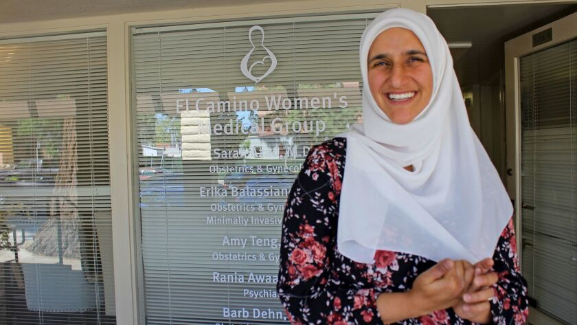 Dr. Sarah Azad runs one of the last remaining independent OB-GYN practices in Mountain View, Calif.,