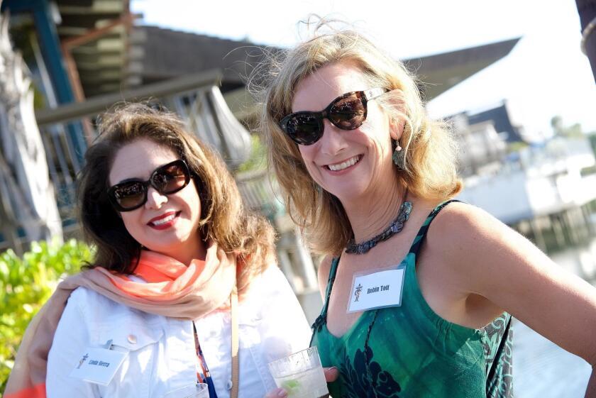 Linda Sierra and Robin Toft