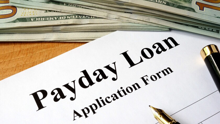 The annual interest rate for payday loans in California can run 460% because such lenders aren't subject to the 10% rate cap under the state's usury law.