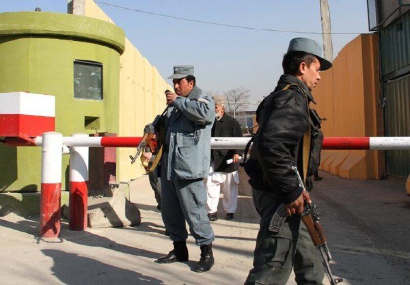 Afghan  shot dead a US military adviser