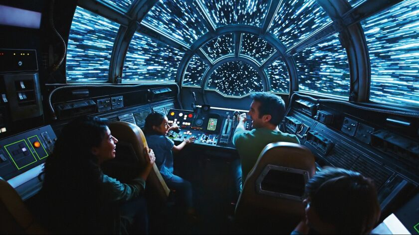 Disneyland's Star Wars: Galaxy's Edge gamifies the theme park as it emphasizes play