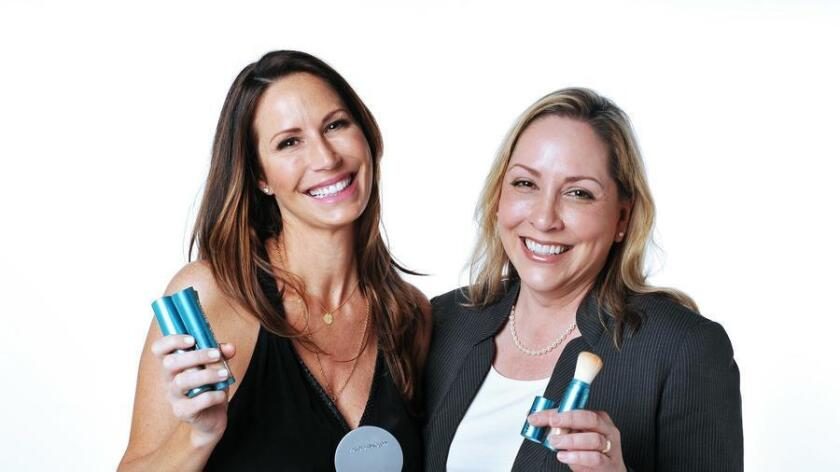 Josie Juncal, CCO and Mary Fisher, president and CEO of Colorescience. (/ Rick Nocon)
