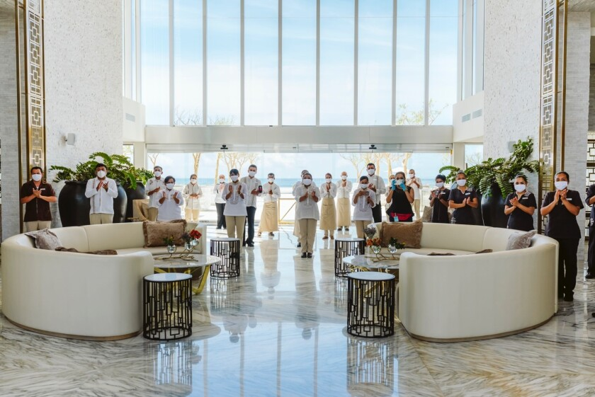 Le Blanc Spa Resort reopens in San José del Cabo, Mexico.