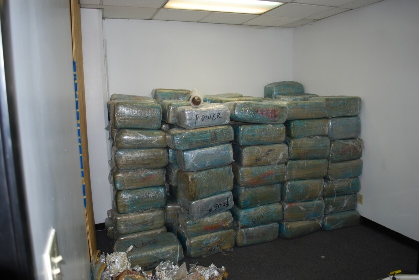 Police make huge drug bust