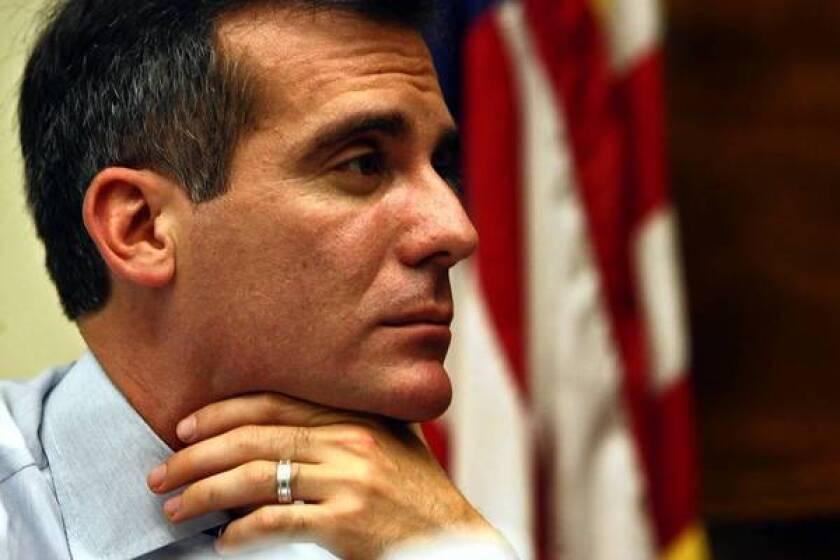 Mayor Garcetti not on board with DWP union's salary offer
