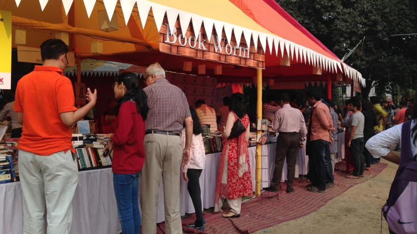 The Dhaka Hay Literary Festival in 2014
