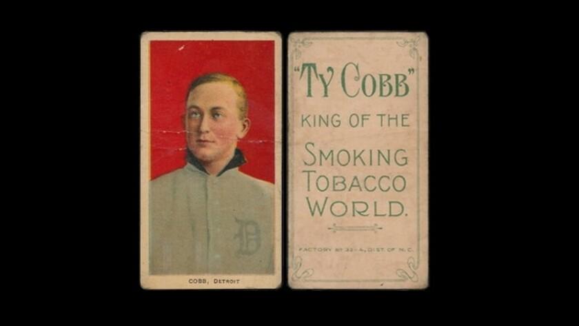 Ty Cobb T206 series baseball card