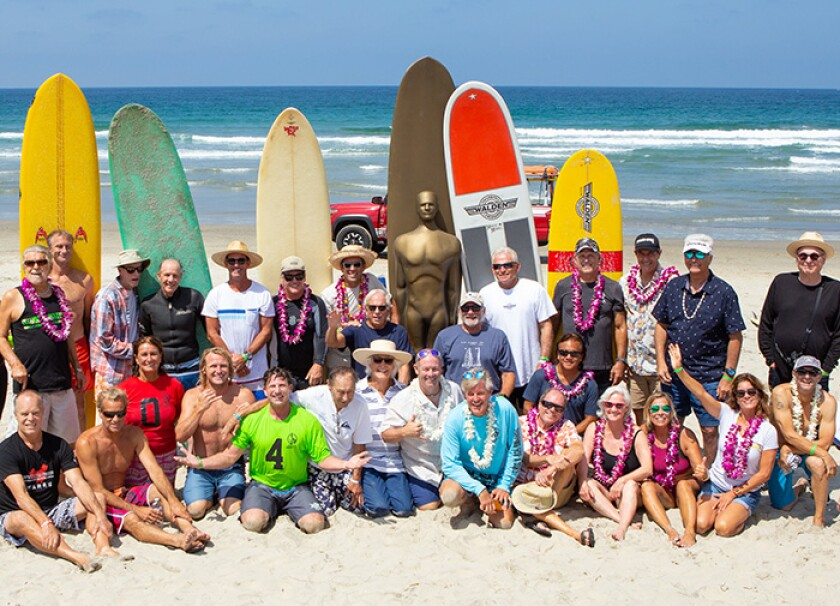 Surfing legends gather at the 2018 Luau & Legends of Surfing Invitational.