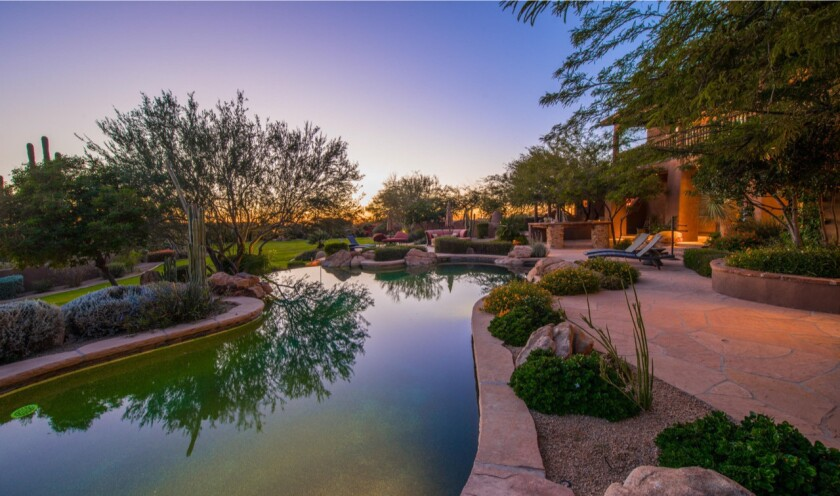 Jeremy Roenick's Arizona estate