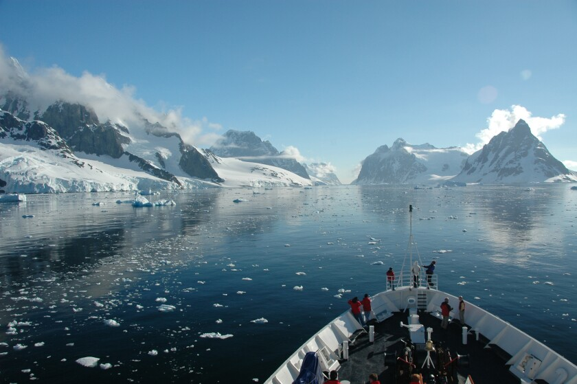 The Antarctica cruise lasts 12 days.