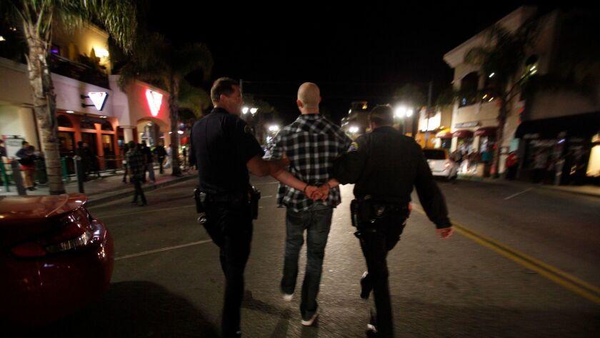 Orr, Francine –– B581058204Z.1 HUNTINGTON BEACH, CA – FEBRUARY 11, 2011: Huntington Beach Police Off
