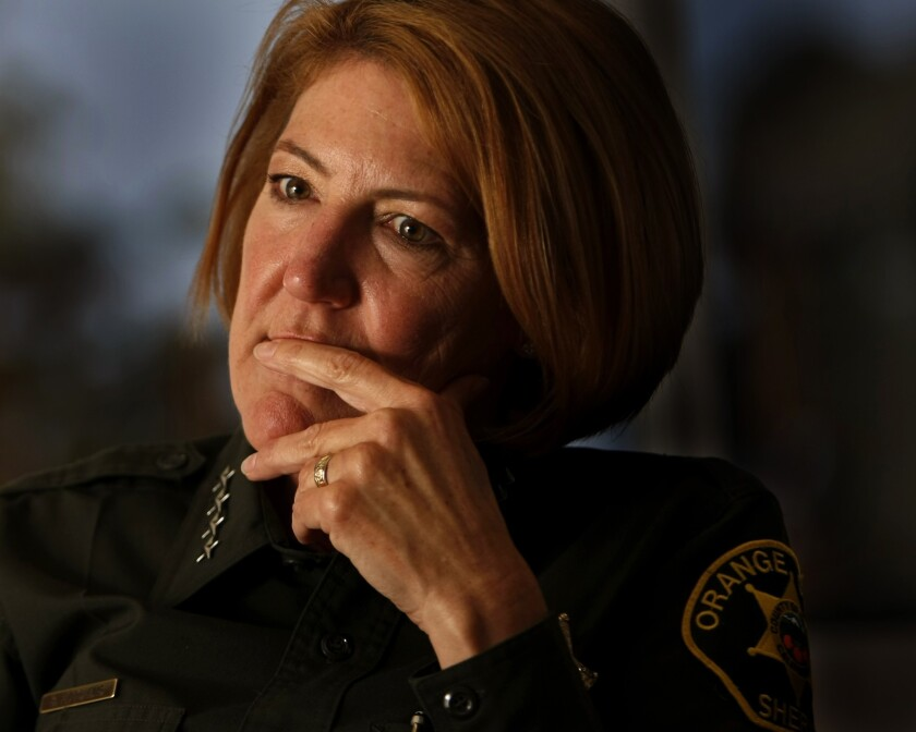 Orange County Sheriff Sandra Hutchens says she will eliminate an in-person gun inspection component of the concealed weapons permit application process to help ease the overwhelming backlog.