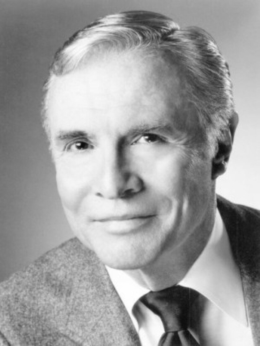 """Early in his career, James Mitchell had leading roles in popular Broadway musicals including """"Brigadoon"""" and """"Paint Your Wagon."""" He also taught movement for actors and theater students at Yale and Drake universities."""