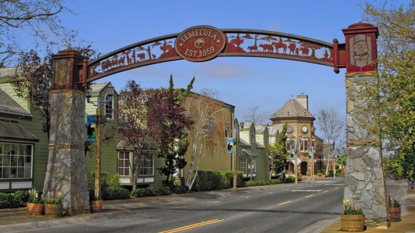 Old Town Temecula in a file photo.