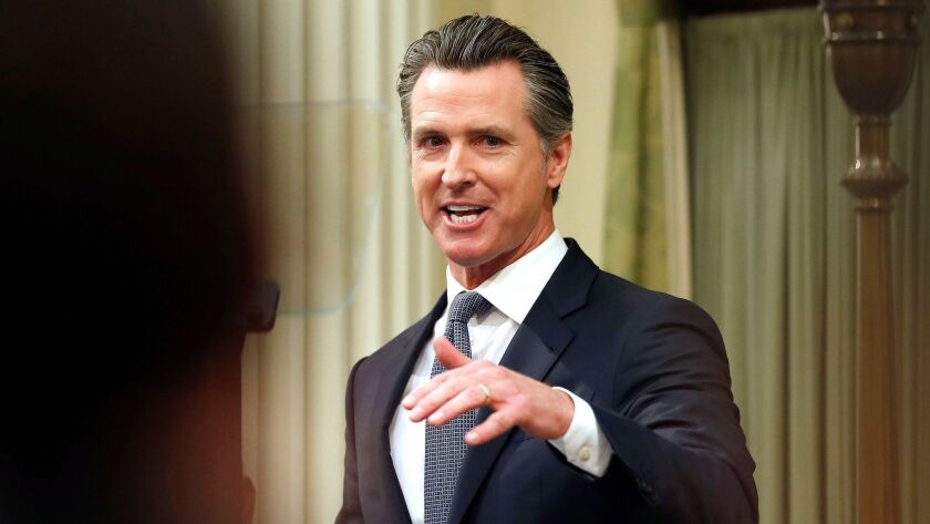 California Governor Newsom State of the State address, Sacramento, USA - 10 Feb 2019