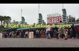 How to avoid a long wait at Disneyland