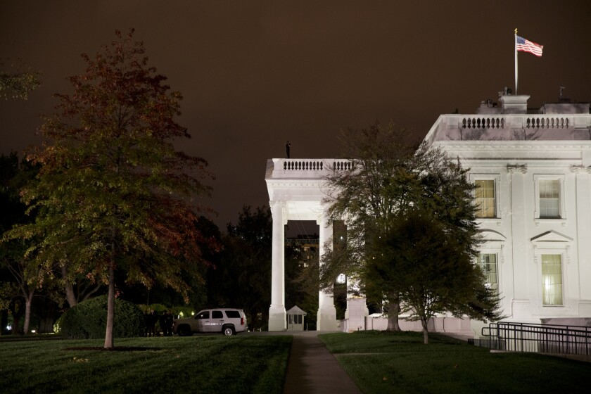 Secret Service at the White House