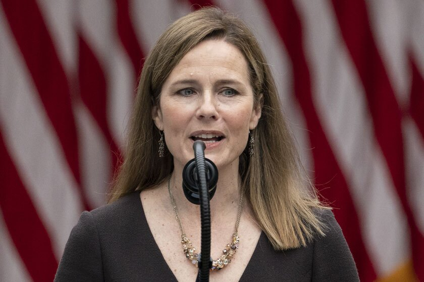 Hearings on Judge Amy Coney Barrett's nomination to the Supreme Court are scheduled to begin on Oct. 12.