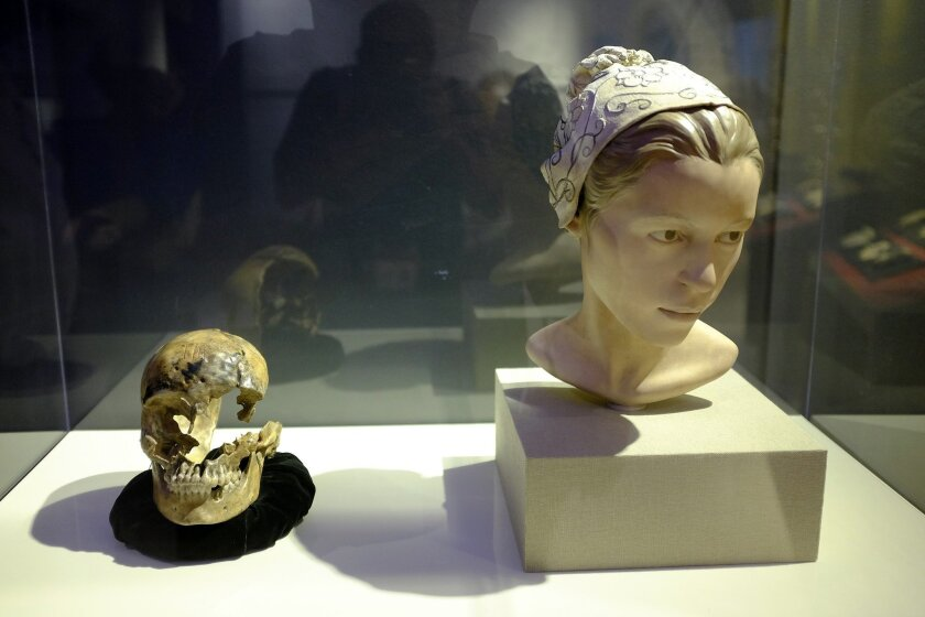"Part of the exhibit on cannibalism is a forensic reconstruction of a woman named ""Jane"" from Fort Jamestown, whose remains were found by archaeologists in 2012 and determined to have been cannibalized during the harsh winter of 1609-1610."